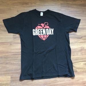 2006 black American idiot Green Day Band Tee
